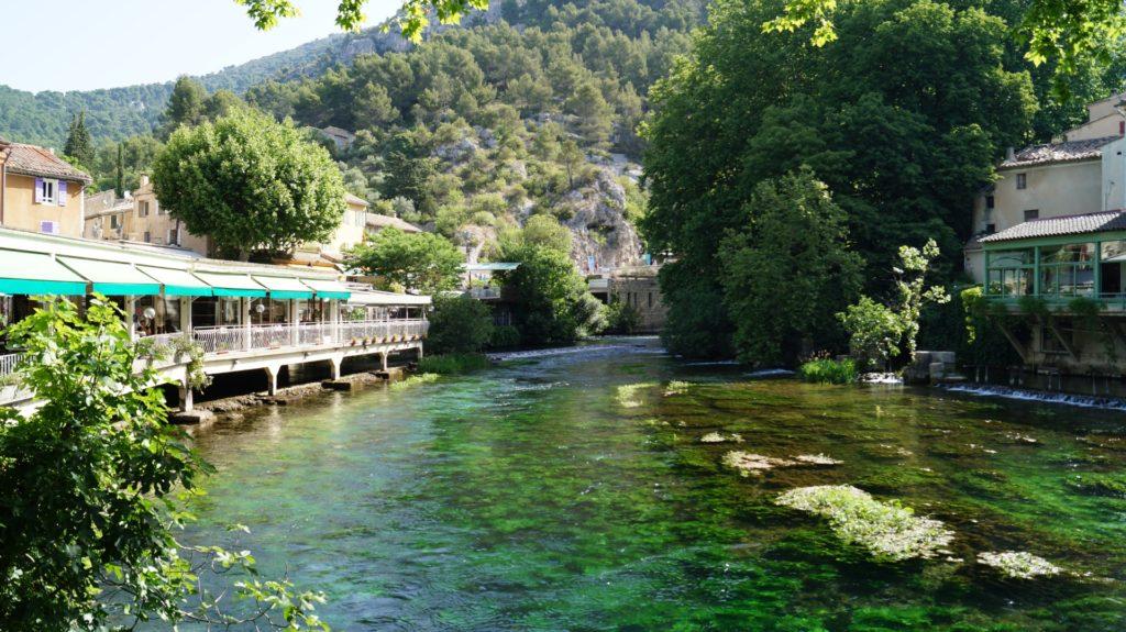 Provenza : Fontaine-de-Vaucluse