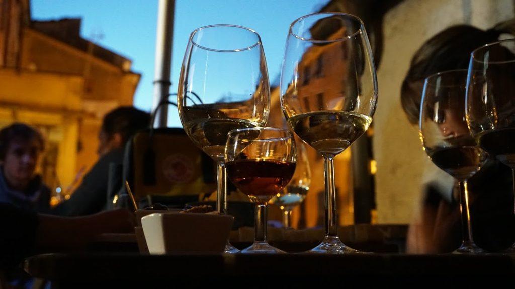 Degustazione di vini delle Cinque Terre