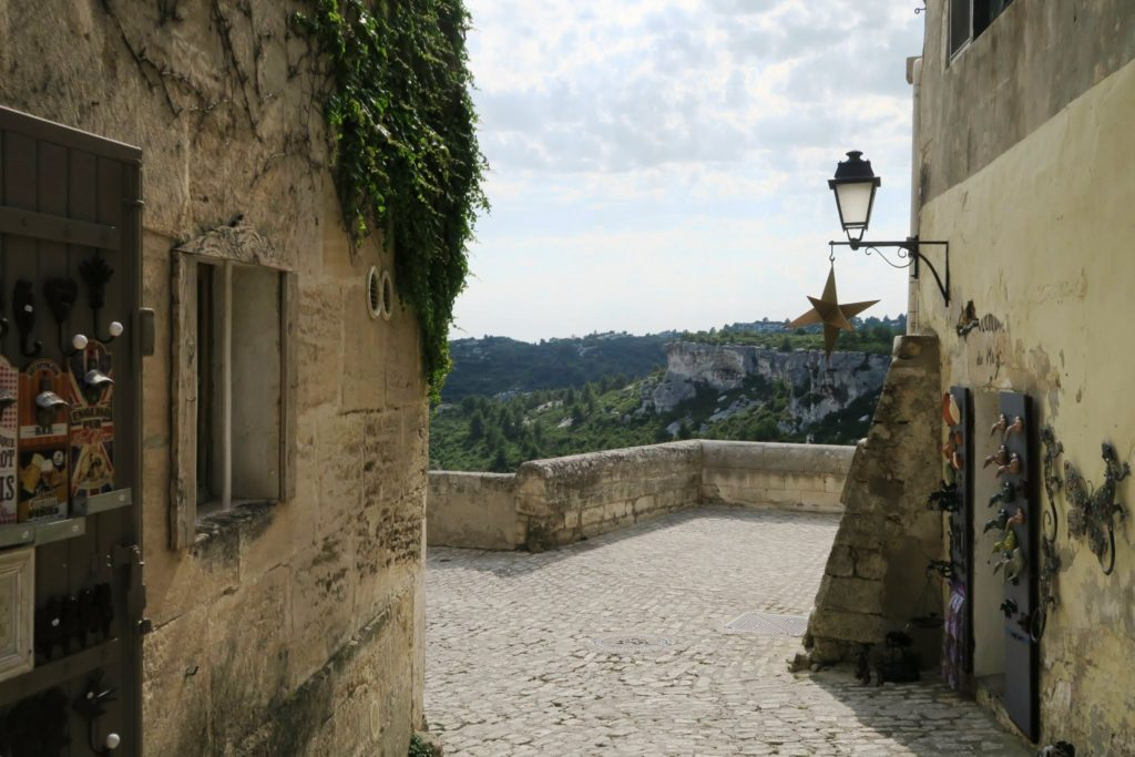 Panorama di Les Baux-de-Provence