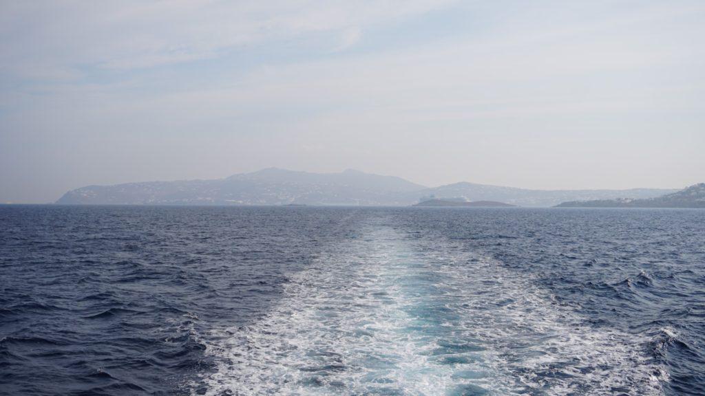 Traghetto da Mykonos a Delos