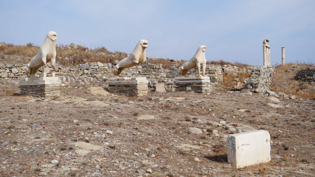 La terrazza dei leoni