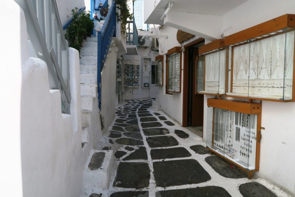 Mykonos: fare shopping