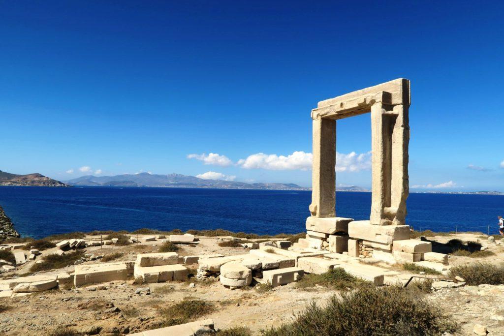Naxos: il tempio di Apollo o Portara
