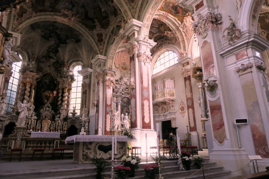 Abbazia di Novacella: la chiesa