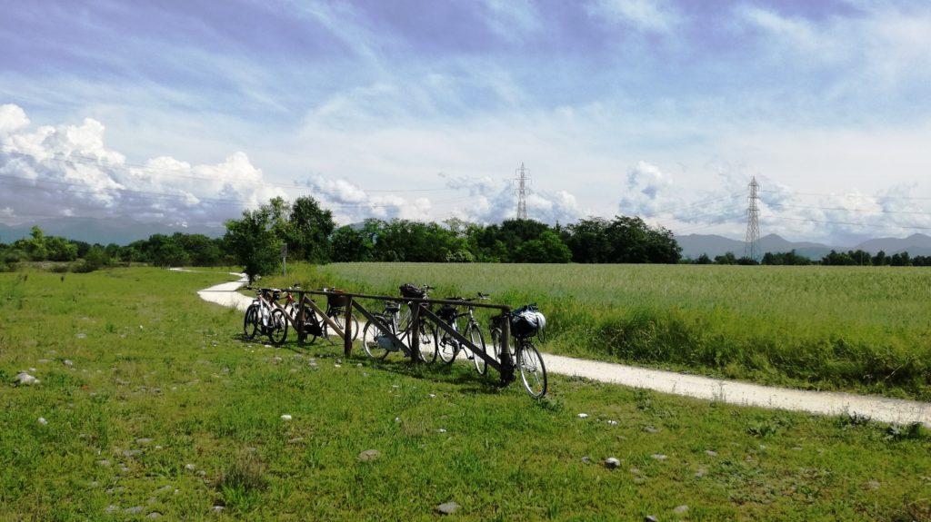 Cavernago in bicicletta