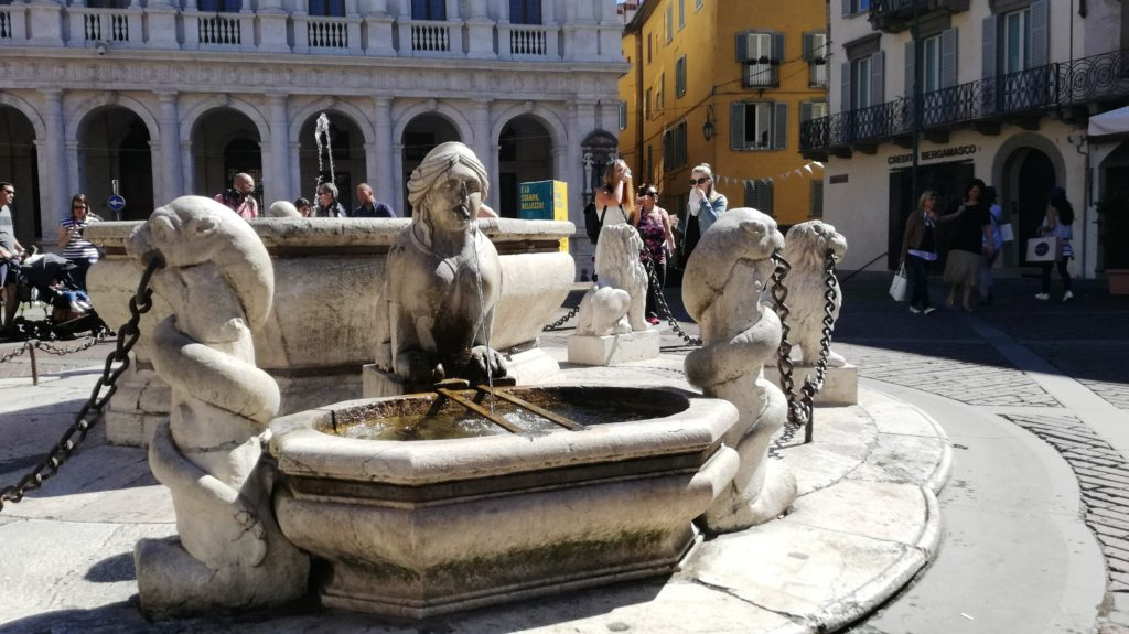 Bergamo Alta: la Fontana Contarini