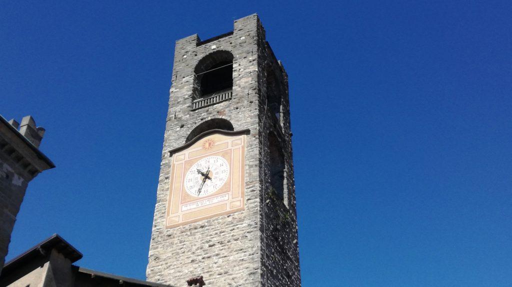 Bergamo Alta: la Torre civica o Campanone