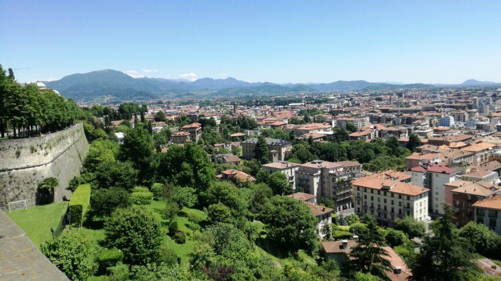 Bergamo Alta: panorama