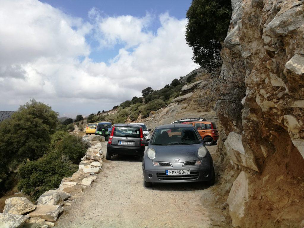 entroterra di NAXOS : come muoversi a Naxos