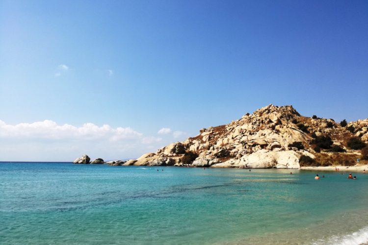 Le spiagge più belle delle Isole Cicladi - Mikri Vigla